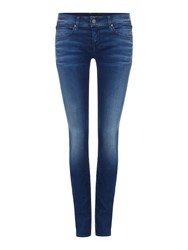 Replay Rose Skinny Fit Jeans Denim Dark Indigo