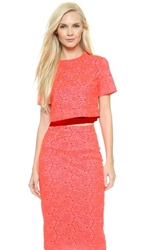 A.L.C. Thompson Top Neon Pink