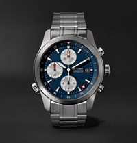 Bremont Alt1 Zt Limited Edition Automatic Chronograph 43Mm Stainless Steel Watch Blue