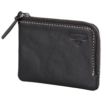 Stanley Zip Around Leather Wallet Black