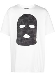 Mostly Heard Rarely Seen Hide And Seek Drop Shoulder T Shirt White