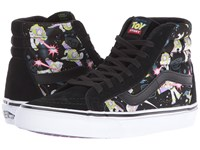 Vans Sk8 Hi Reissue X Toy Story Collection Toy Story Buzz Lightyear True White Skate Shoes Green