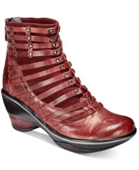 Jambu Women's Candy Cold Weather Booties Women's Shoes Burgundy