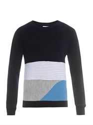 Wooyoungmi Contrast Patch Wool Sweater