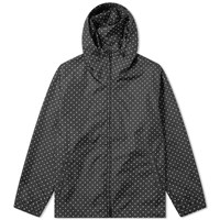 Sophnet. Dot Hooded Jacket Black