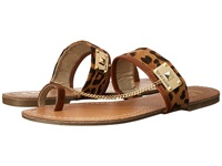 G By Guess Lucia 2 Natural Brown Detail Women's Sandals Tan