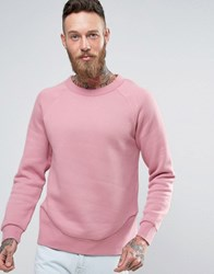 Weekday Milky Sweatshirt Dusty Pink