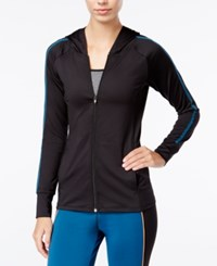 Energie Active Juniors' Full Zip Hoodie Caviar