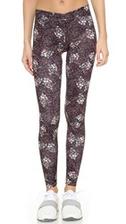 Live The Process V Tights Liberty Dark Floral