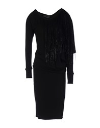 Jay Ahr 3 4 Length Dresses Black