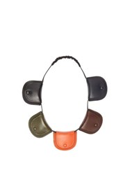 Loewe Pouch Leather Necklace Bag Multi