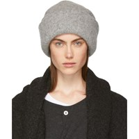 f7e44e3a2b4 Lauren Manoogian Grey Alpaca Carpenter Beanie