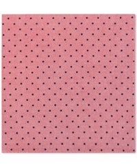 Tommy Hilfiger Men's Dot Print Pocket Square Red