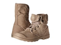 Palladium Pallabrouse Baggy Stucco Cobblestone Women's Boots Neutral