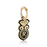 Hoorsenbuhs Diamond Motif Pendant Yellow