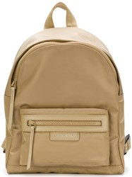 Longchamp Small Backpack Nude And Neutrals