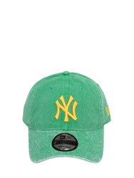 New Era Mlb 9T20 Ny Yankees Cotton Baseball Hat Green