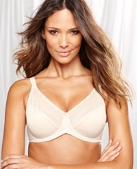 Lilyette Jacquard Tailored Minimizer Bra 843 Ivory