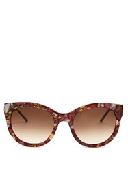 Thierry Lasry Lively Acetate Sunglasses Pink Multi
