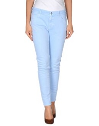 Koral Denim Pants Sky Blue