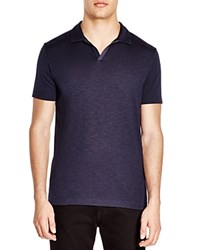Theory Esra Anemone Slim Fit Polo Shirt Eclipse Multi