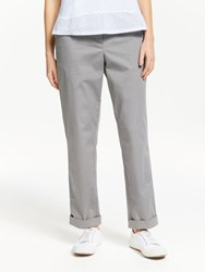 John Lewis Collection Weekend By Chino Trousers Mid Grey
