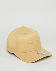 Mitchell And Ness 110 Snapback Cap In Beige Beige
