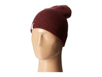 Coal The Frena Solid Heather Burgundy Beanies