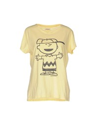 Roy Rogers Roger's T Shirts Yellow