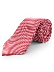 Limehaus Micro Design Tie Red