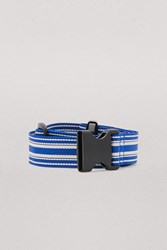 Dries Van Noten Striped Belt Ecru