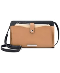 Nine West Table Treasures Crossbody With Pouch Camel Desert Black