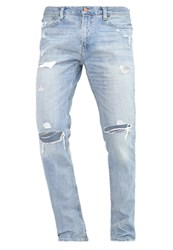 Hollister Co. Slim Fit Jeans Destroyed Denim