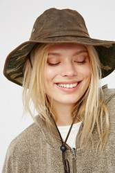 Free People Womens Maverick Distrsd Hat