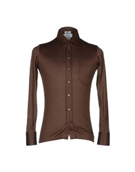 Avon Celli 1922 Shirts Dark Brown