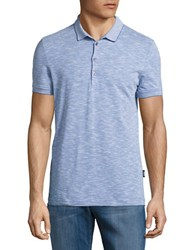 Strellson Pavell Cotton Polo Pastel Blue