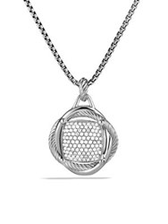 David Yurman Infinity Large Pendant With Diamonds No Color