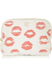 Charlotte Tilbury Printed Cotton Canvas Makeup Bag
