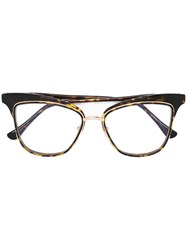 Dita Eyewear 'Willow' Glasses Brown