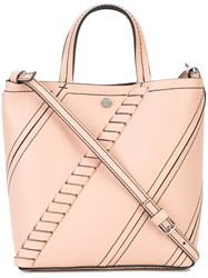 Proenza Schouler Small Hex Tote Pink And Purple