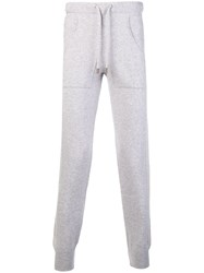 Eleventy Cashmere Tapered Trousers Grey