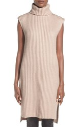 Women's Lucca Couture Sleeveless Turtleneck Sweater Dress