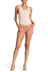 Jolt Drawstring Lace Short Juniors Pink
