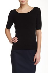 Tahari Sterling Sweater Black