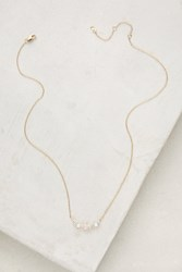 Anthropologie Seaside Ombre Necklace Rose