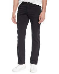 Brioni Straight Leg Denim Jeans Black