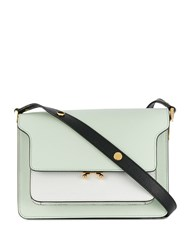 Marni Trunk Shoulder Bag Green