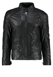 Joop Lima Leather Jacket Black