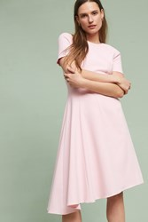 Anthropologie Calleen Asymmetrical Dress Pink