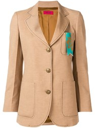The Gigi Fitted Jacket Neutrals